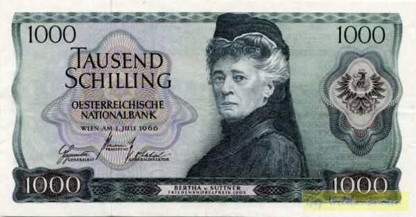 1.7.66 - (Sie sehen ein Musterbild, nicht die angebotene Banknote)