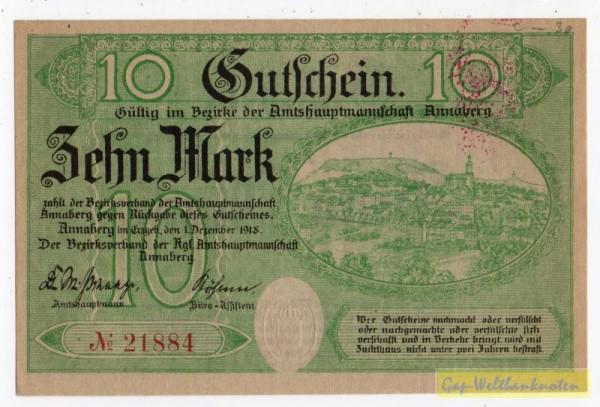 1.12.18, № KN. entwertet - (Sie sehen ein Musterbild, nicht die angebotene Banknote)