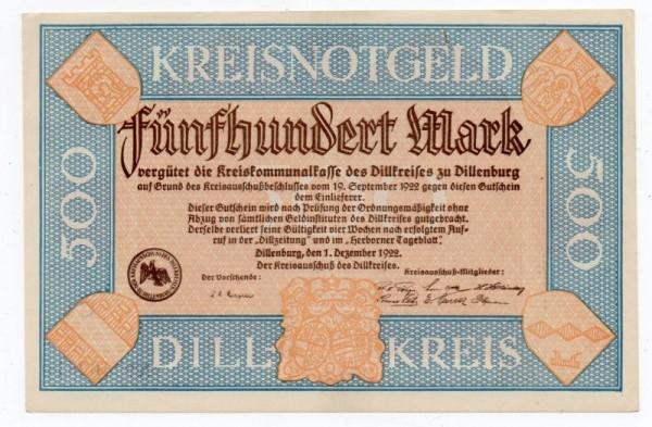 1.10.22, C - (Sie sehen ein Musterbild, nicht die angebotene Banknote)
