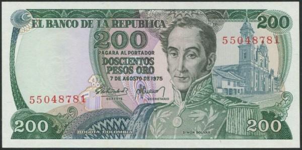 7.8.75 - (Sie sehen ein Musterbild, nicht die angebotene Banknote)