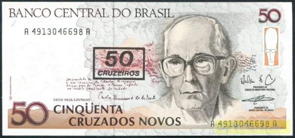 Üdr. auf Nr.219 - (Sie sehen ein Musterbild, nicht die angebotene Banknote)