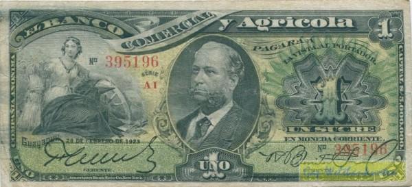 28.2.1923 - (Sie sehen ein Musterbild, nicht die angebotene Banknote)