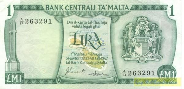 Sammut/Gabriele - (Sie sehen ein Musterbild, nicht die angebotene Banknote)