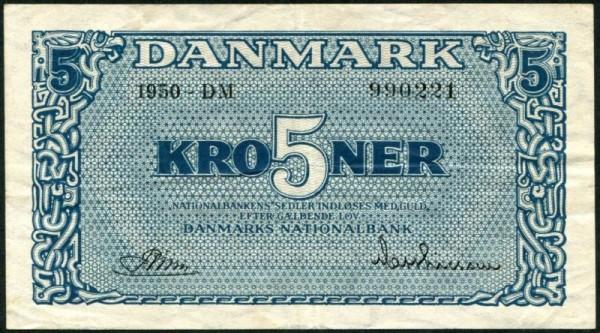 1950 AP,DM - (Sie sehen ein Musterbild, nicht die angebotene Banknote)