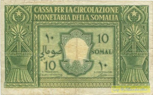 1950, geschönt - (Sie sehen ein Musterbild, nicht die angebotene Banknote)