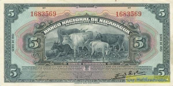 SERIE 1951 - (Sie sehen ein Musterbild, nicht die angebotene Banknote)