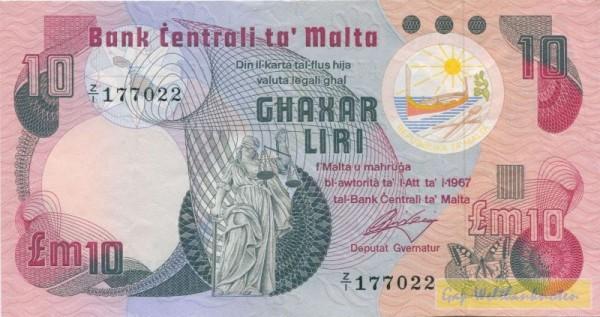 mit 3 Blindenpunkten, Z/1=Ersatznote - (Sie sehen ein Musterbild, nicht die angebotene Banknote)