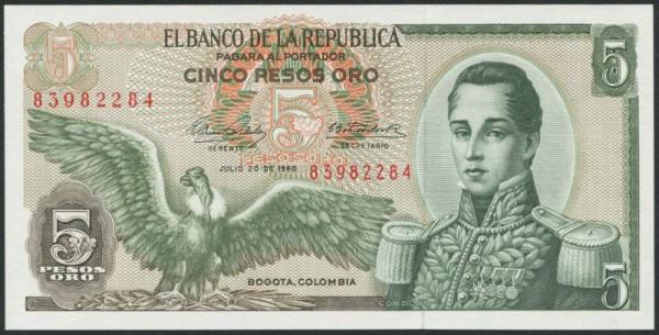20.7.68 - (Sie sehen ein Musterbild, nicht die angebotene Banknote)