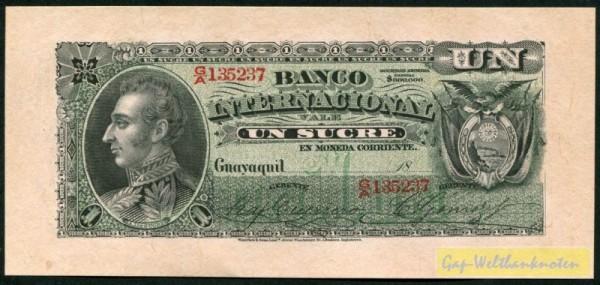18, Fleck - (Sie sehen ein Musterbild, nicht die angebotene Banknote)
