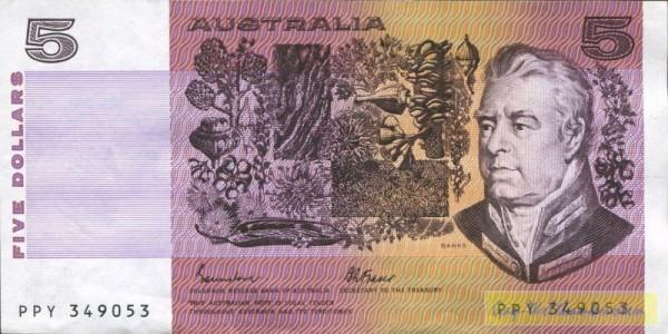 Johnston-Fraser - (Sie sehen ein Musterbild, nicht die angebotene Banknote)