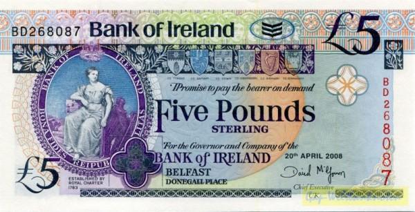 20.4.08 - (Sie sehen ein Musterbild, nicht die angebotene Banknote)