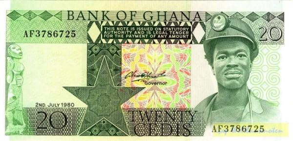 2.7.80 - (Sie sehen ein Musterbild, nicht die angebotene Banknote)