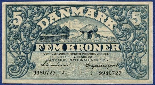 1943J, Stenstan, ... - (Sie sehen ein Musterbild, nicht die angebotene Banknote)