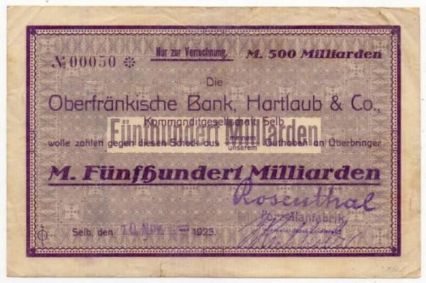 10.11.23 - (Sie sehen ein Musterbild, nicht die angebotene Banknote)