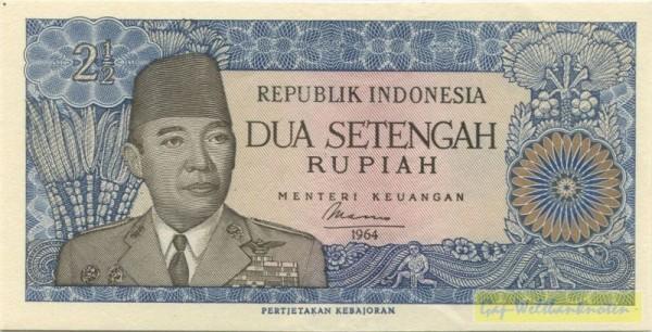 1964, mit Dfa., Ersatznote - (Sie sehen ein Musterbild, nicht die angebotene Banknote)