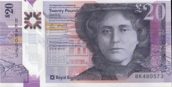 27.5.19 - (Sie sehen ein Musterbild, nicht die angebotene Banknote)