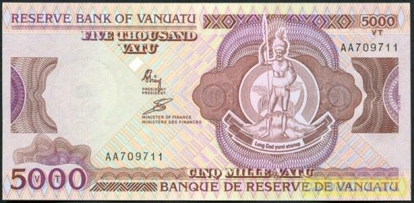 Central Bank - (Sie sehen ein Musterbild, nicht die angebotene Banknote)