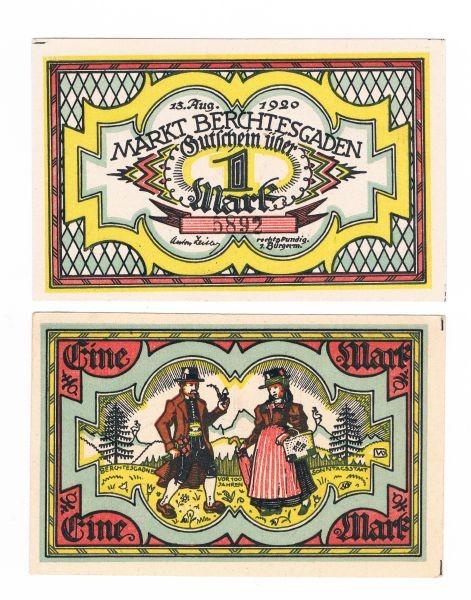 13.8.20, KN 4,7 mm - (Sie sehen ein Musterbild, nicht die angebotene Banknote)
