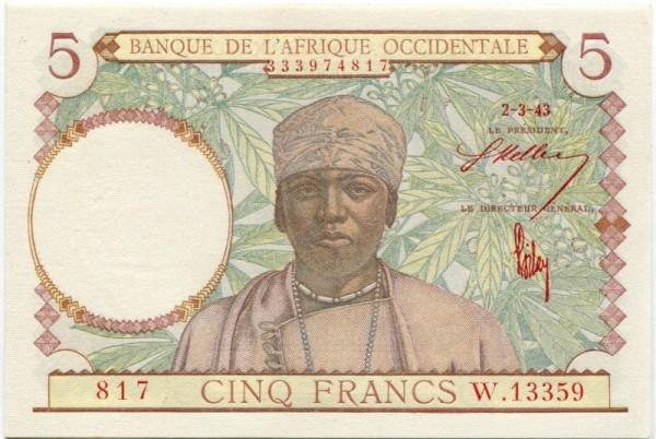 2.3.43, Datum rot - (Sie sehen ein Musterbild, nicht die angebotene Banknote)