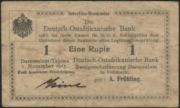 F, Stelling, Kirst - (Sie sehen ein Musterbild, nicht die angebotene Banknote)