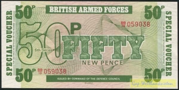 6. Serie, TDLR - (Sie sehen ein Musterbild, nicht die angebotene Banknote)