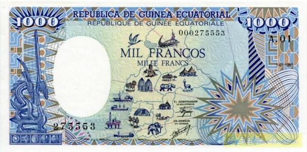 1.1.85 - (Sie sehen ein Musterbild, nicht die angebotene Banknote)