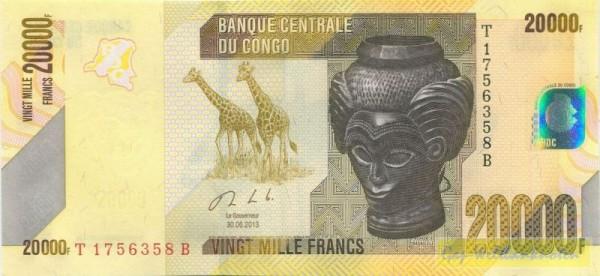 30.9.13 - (Sie sehen ein Musterbild, nicht die angebotene Banknote)