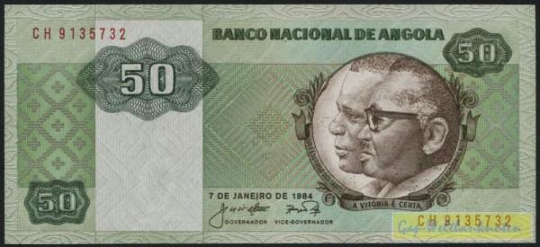 7.1.84 - (Sie sehen ein Musterbild, nicht die angebotene Banknote)