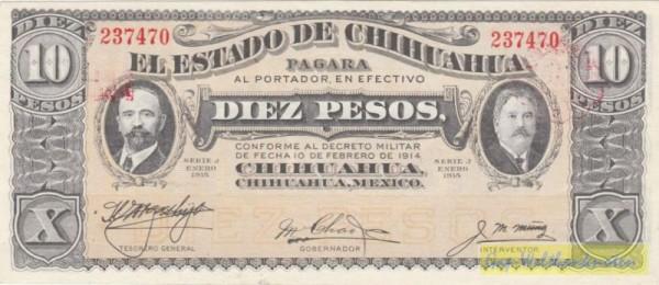 1/1915, Serie J - (Sie sehen ein Musterbild, nicht die angebotene Banknote)