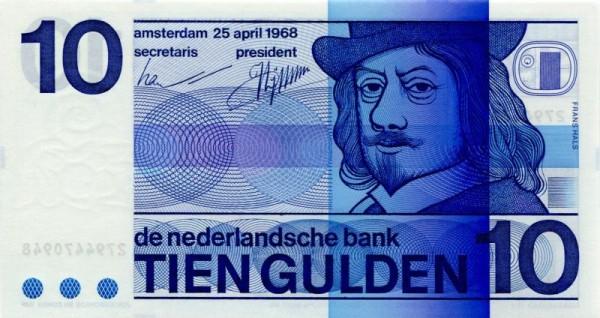 25.4.68 - (Sie sehen ein Musterbild, nicht die angebotene Banknote)