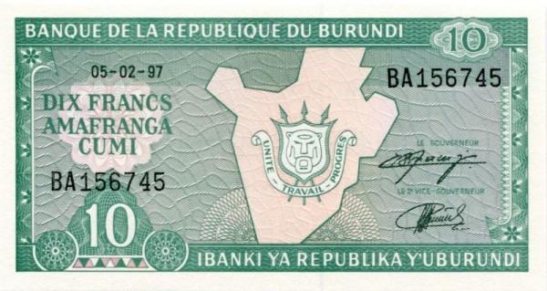 5.2.97 - (Sie sehen ein Musterbild, nicht die angebotene Banknote)