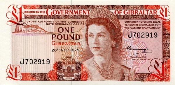 20.11.75 - (Sie sehen ein Musterbild, nicht die angebotene Banknote)