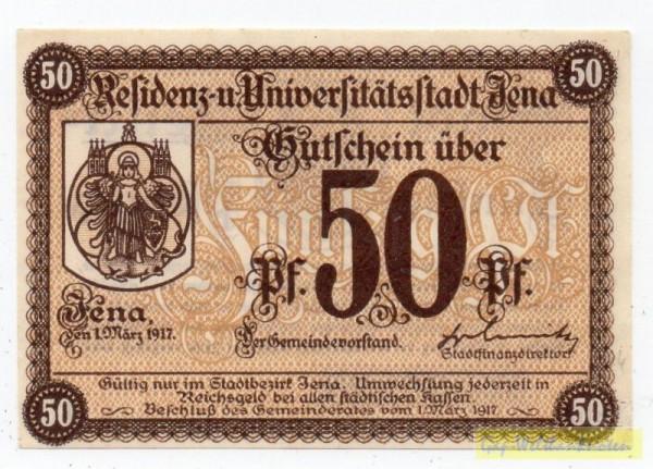 1.3.17, Raster 29 mm, Papier weiß, KN Type I - (Sie sehen ein Musterbild, nicht die angebotene Banknote)