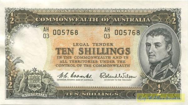 Coombs-Wilson - (Sie sehen ein Musterbild, nicht die angebotene Banknote)