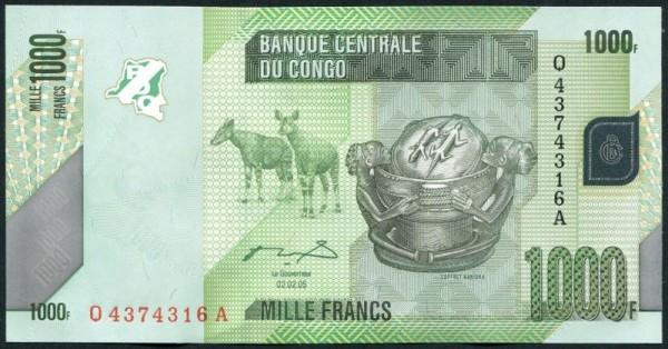 2.2.05 - (Sie sehen ein Musterbild, nicht die angebotene Banknote)