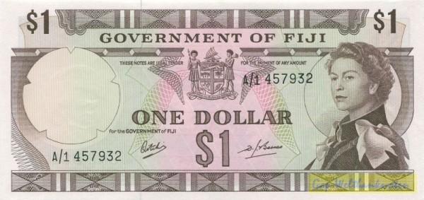 Us. Ritchie/Barnes - (Sie sehen ein Musterbild, nicht die angebotene Banknote)