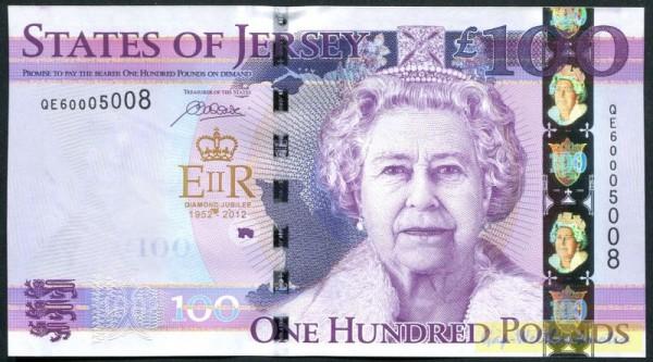 GA (QE II) - (Sie sehen ein Musterbild, nicht die angebotene Banknote)