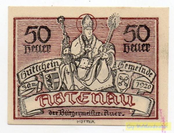 mit Punkt zwischen u t von Gutschein - (Sie sehen ein Musterbild, nicht die angebotene Banknote)