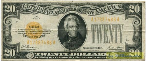 1928 - (Sie sehen ein Musterbild, nicht die angebotene Banknote)