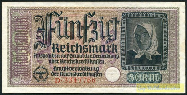 KN rot - (Sie sehen ein Musterbild, nicht die angebotene Banknote)