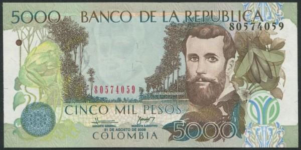 31.8.08 - (Sie sehen ein Musterbild, nicht die angebotene Banknote)