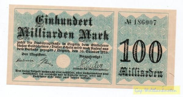 30.10.23 - (Sie sehen ein Musterbild, nicht die angebotene Banknote)
