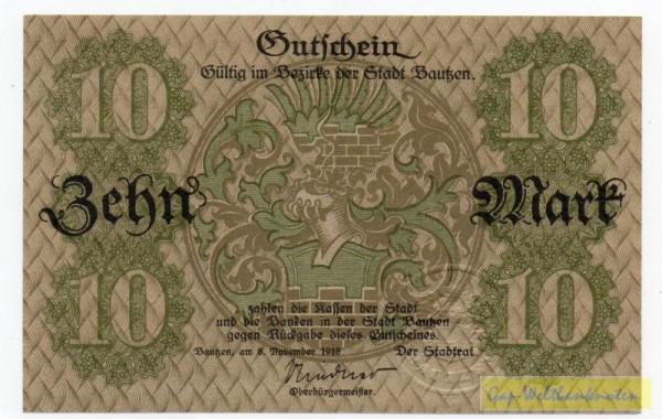 8.11.18, No KN, entw. - (Sie sehen ein Musterbild, nicht die angebotene Banknote)