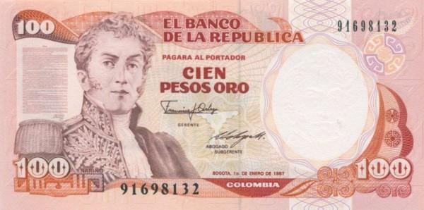 12.10.86, IBB - (Sie sehen ein Musterbild, nicht die angebotene Banknote)