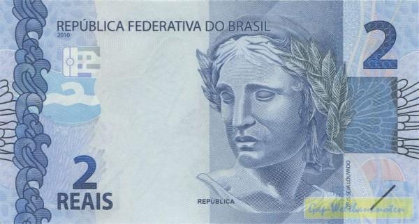 2010, Us. Guardia/Goldfajn - (Sie sehen ein Musterbild, nicht die angebotene Banknote)