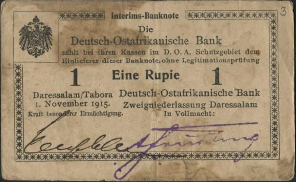 D2, Neugebauer, Wz. Drewsen - (Sie sehen ein Musterbild, nicht die angebotene Banknote)