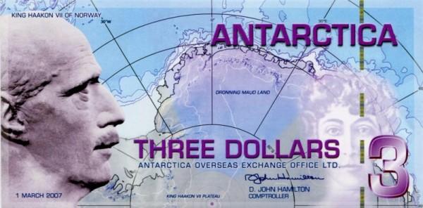 1.3.07, Plastik - (Sie sehen ein Musterbild, nicht die angebotene Banknote)
