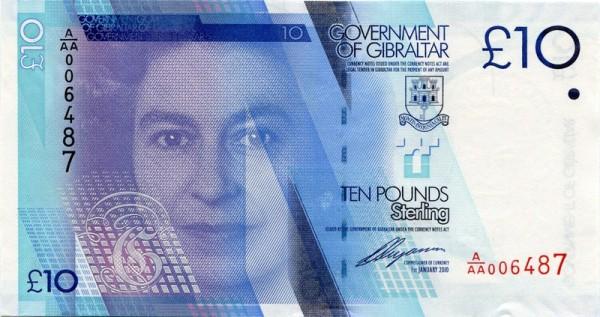 1.1.10 - (Sie sehen ein Musterbild, nicht die angebotene Banknote)