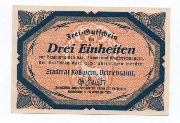 oD, Frei-Gutschein - (Sie sehen ein Musterbild, nicht die angebotene Banknote)