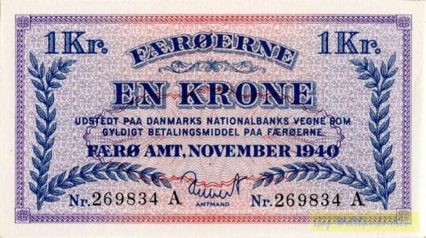 Nov. 1940 - (Sie sehen ein Musterbild, nicht die angebotene Banknote)